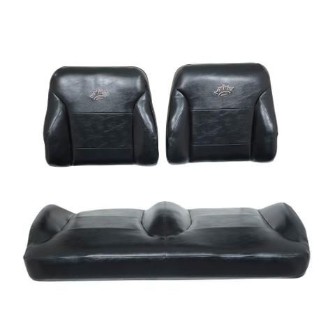EZGO RXV Black Suite Seats (Fits 2008-2015)