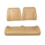 EZGO RXV Tan Suite Seats (Fits 2008-2015)
