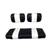 Yamaha G2/G9 Black/White Seat Cover Set
