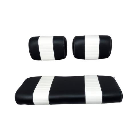 Yamaha G2/G9 Black/White Seat Cover Set