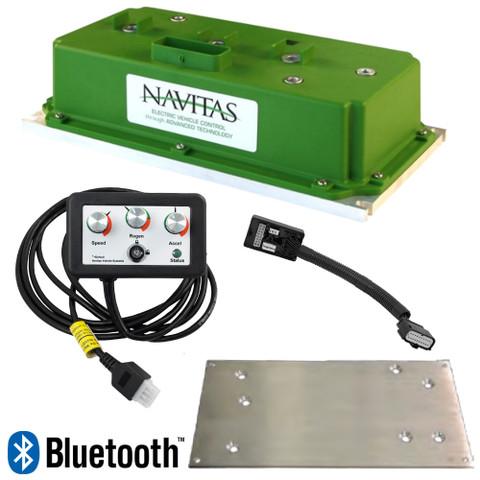 EZGO RXV Navitas 600-Amp 48-Volt AC Upgrade Controller Kit With BlueTooth (Curtis)