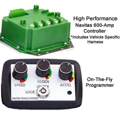 Yamaha G29/Drive Navitas 600-Amp 48-Volt Controller Kit (Fits 2008-Up)