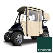 Club Car Precedent Forest Green Sunbrella Door Max Enclosure (Fits 2004-Up)