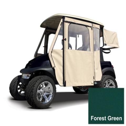 Club Car Precedent Forest Green Sunbrella Door Max Enclosure (Fits 2004-Up)