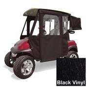 Club Car Precedent Black Vinyl Door Max Enclosure (Fits 2004-Up)