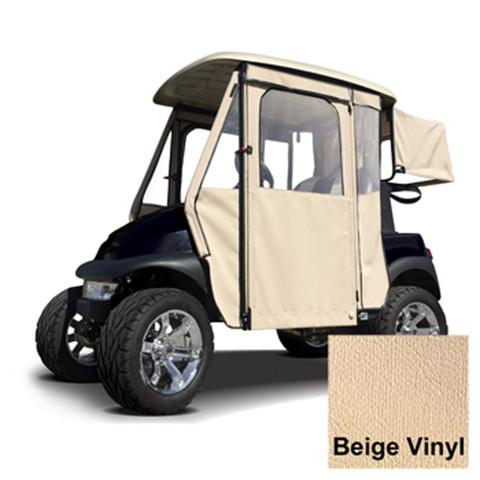Club Car Precedent Beige Vinyl Door Max Enclosure (Fits 2004-Up)