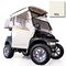 Club Car DS Ivory 3-Sided Track Style Enclosure (Fits 2000-Up)