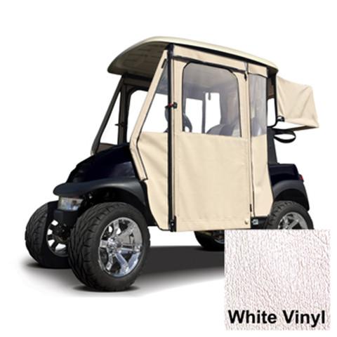 EZGO RXV White Vinyl Door Max Enclosure (Fits 2008-Up)