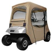 Classic Accessories Custom Fit EZGO Khaki Enclosure (Models TXT & RXV)