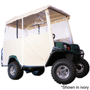 EZGO Ivory 4-Passenger 3-Sided Over-The-Top Enclosure (Fits L4/S4)