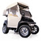 EZGO Freedom TXT/T48 Ivory 3-Sided Over-The-Top Enclosure (Fits 1994-2013)