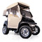 EZGO Freedom TXT/T48 Sand 3-Sided Over-The-Top Enclosure (Fits 2014-Up) (Golf Club Holder Sold Separately)