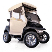 EZGO Freedom TXT/T48 Sand 3-Sided Over-The-Top Enclosure (Fits 2014-Up)