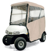 EZGO RXV Sand 3-Sided Over-the-Top Enclosure W/New Style Top (Fits 2008-Up)