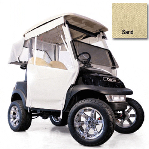 EZGO RXV Sand 3-sided Track Style Enclosure (Fits 2008-Up)