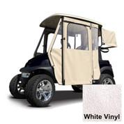 Yamaha G29/Drive White Vinyl Door Max Enclosure (Fits 2007-2016)