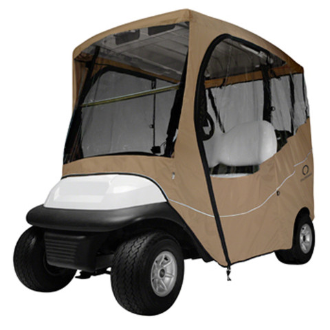 Classic Accessories 2-Passenger Light Khaki Travel Enclosure (Universal Fit)