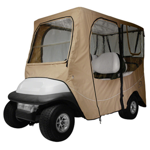 Classic Accessories Deluxe Khaki 4-Passenger Enclosure (Universal Fit)