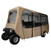 Classic Accessories Deluxe Khaki 6-Passenger Enclosure (Universal Fit)