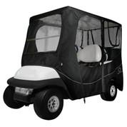 "Classic Accessories Deluxe Black 4-Passenger Golf Cart Enclosure (Universal Fit, 80"" Tops)"