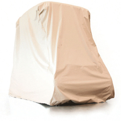 Red Dot Ivory 2-Passenger Lifted Cart Storage Cover (Universal Fit)