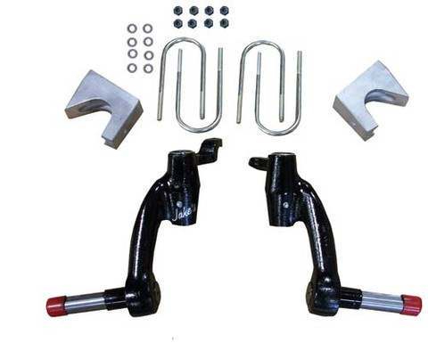 "Jakes 6"" EZGO 2008.5 & Up TXT & 1200 Workhorse Drop Spindle Lift Kit (Fits 2008.5+ GAS w/ Kawasaki Engine)"