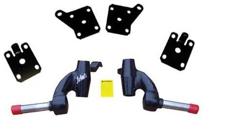 "Jakes 3"" EZGO 2008.5 & Up TXT & 1200 Workhorse Drop Spindle Lift Kit (Fits 2008.5+ GAS w/ Kawasaki Engine)"