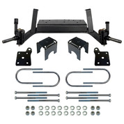 "5"" EZGO TXT RHOX Drop Axle Golf Cart Lift Kit for (GAS 2001.5-2008.5 & Electric 2001.5-2013 Carts)"