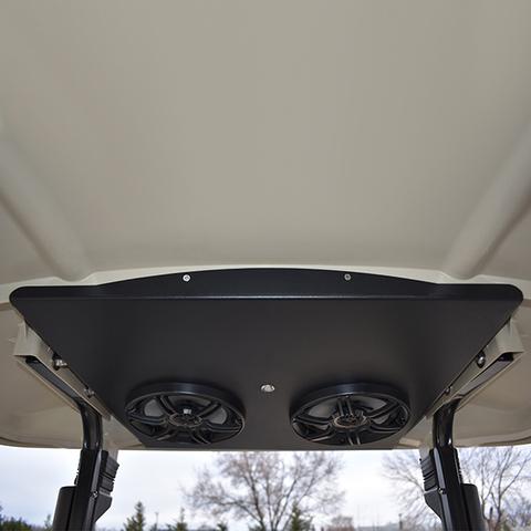 YAMAHA Drive/Drive2 Golf Cart Radio Overhead Console with Bluetooth Amp & Speakers