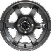 "12"" GT Gunmetal Aluminum Wheels - Set of 4"