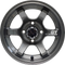 "12"" GT Gunmetal Aluminum Wheels - Set of 4"