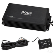 BOSS 4 Channel 500 Watt Marine Grade Bluetooth Amplifier