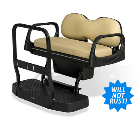 Club Car DS DoubleTake Max 5 Rear Seat Kit