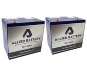 Yamaha G14 / G16 / G19 Lithium Golf Cart Batteries - Drop in Ready 36V