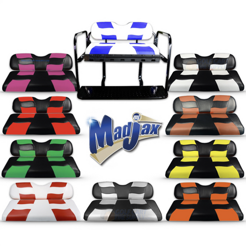 MADJAX Riptide Two Tone Rear Seat Covers