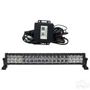 "RHOX 21.5"" RGB Custom Color Golf Cart LED Utility Light Bar -12V (120 Watt / 7,800 Lumens, Fits All Carts)"