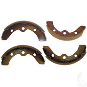 Club Car DS & Precedent Brake Shoes - Set of 4 (Fits DS 1995+, Precedent)
