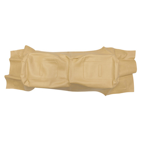 EZGO TXT / Medalist Golf Cart Seat Back Cover - TAN