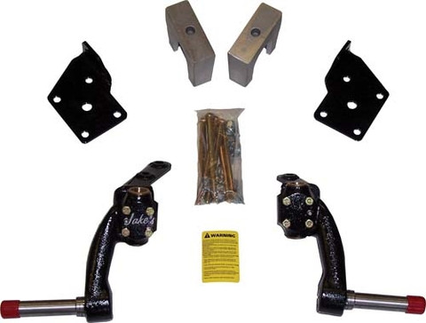 "Jakes 6"" Fairplay, Star, Zone Drop Spindle Lift Kit - (2005 & Up)"