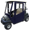Club Car DS Enclosure / Golf Cart Cover - DoorWorks Hinged Hard Door (Sunbrella Material)