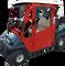 Club Car DS Enclosure / Golf Cart Cover - DoorWorks Hinged Hard Door (Sunbrella Material)