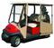 Club Car Precedent Enclosure / Golf Cart Cover - DoorWorks Hinged Hard Door (Sunbrella Material)