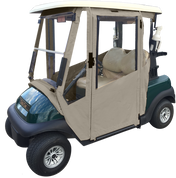 Club Car Precedent Enclosure / Golf Cart Cover - DoorWorks Hinged Hard Door (Sunbrella Material)
