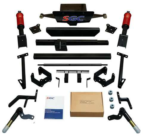 "EZGO TXT 6"" SGC Heavy Duty A-Arm Lift Kit Coil-over"