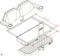 EZGO TXT DELUXE Golf Cart Rear Seat Kit - TAN Color - (FREE Grab Bar, Tow Hitch, Folding Step)