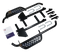 SGC Club Car DS Nerf Bars Set - BLACK Side Step Running Board