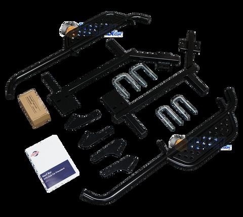 SGC Club Car Precedent Nerf Bars Set - BLACK Side Step Running Board