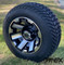 "10"" ATLAS Machined Wheels and 205/50-10 Low Profile DOT Tires Combo"