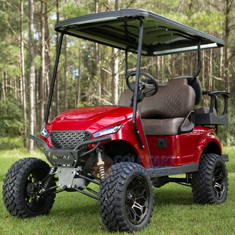 EZGO TXT Madjax Storm Body Kit - Cherry Metallic