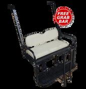 Yamaha Golf Cart Rear Seat Kit for G14 / G16 / G19 / G22 - IVORY